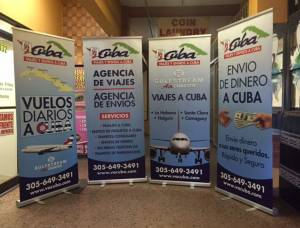 Banner Stand Roll Up Vacuba