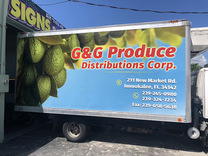 Commercial Box Truck Wraps, Graphics & Lettering, Commercial & Fleet Vinyl Box Truck Wraps